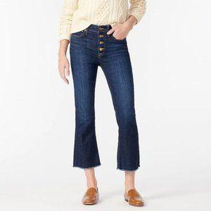 J.Crew Billie Demi Boot Crop Jeans AB376 Size 32
